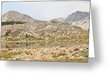 Wyoming At Altitude 4 Greeting Card