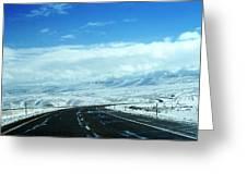 Wyoming In September Greeting Card