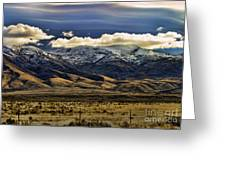 Wyoming Iv Greeting Card