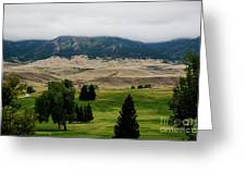 Wyoming Landscape 51a Greeting Card