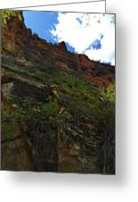 Wyoming Red Rocks Greeting Card