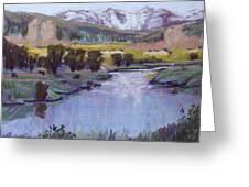 Wyoming River Greeting Card