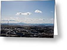 Wyoming Skies Greeting Card