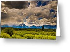 Wyoming Sky Greeting Card
