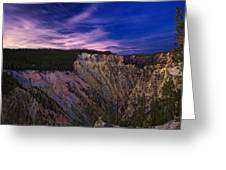 Wyoming Sunset Greeting Card