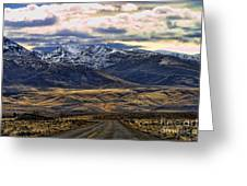 Wyoming Viii Greeting Card