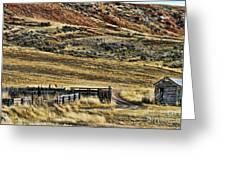 Wyoming X Greeting Card