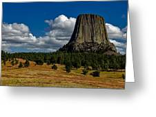 Wyoming's Devil's Tower Greeting Card