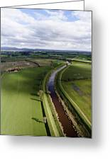 Wyre From The Air Greeting Card