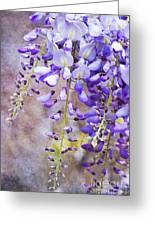 Wysteria Greeting Card