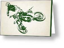 X Games Motocross 4 Greeting Card