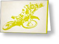 X Games Motocross 5 Greeting Card