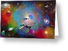 X-wing Fighter Greeting Card