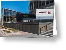 Xerox Tower Entrance Greeting Card