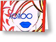 Xoxoo Greeting Card
