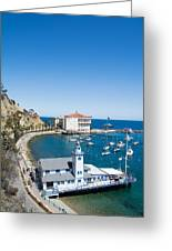 Yacht Club And The Casino Greeting Card