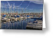 Yachts And Things Greeting Card