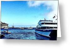 Yachtsee Greeting Card