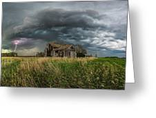 Yale Supercell Pano  Greeting Card