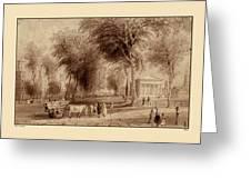 Yale University 1836 Greeting Card