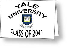 Yale University Class Of 2041 Greeting Card