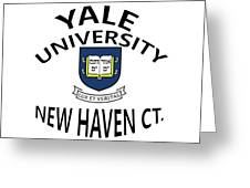Yale University New Haven Ct.  Greeting Card