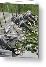Yamaha Outboards Greeting Card