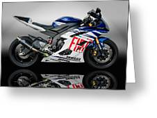Yamaha Rossi Rep Greeting Card