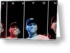 Yankee Core Four By Gbs Greeting Card