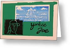 Yankee Joe 2 Greeting Card by Joe Michelli