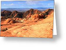 Yant Flat Candy Cliffs Panorama Greeting Card
