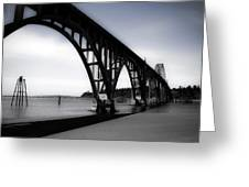 Yaquina Bay Bridge Greeting Card