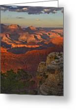 Yavapai Point Sunset Greeting Card