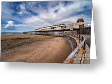 Ye Olde Victoria Pier Greeting Card