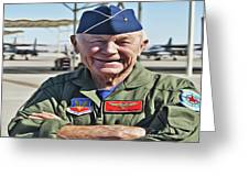 Yeager Greeting Card