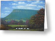 Yeats Country With Benbulben Greeting Card