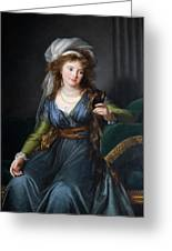 Yekhaterina Vasilievna Engelhardt, Countess Skavronskaya, Later Countess Litta E. Vigee-lebrun Greeting Card