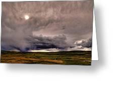 Yellostone Sky Greeting Card