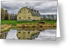 Yellow Barn Greeting Card