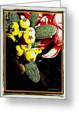 Yellow Berries Greeting Card