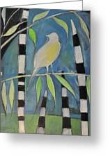 Yellow Bird Up High... Greeting Card