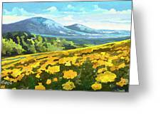 Yellow Blanket Greeting Card