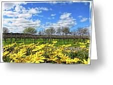 Yellow Carpet Greeting Card