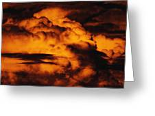 Clouds Time Greeting Card