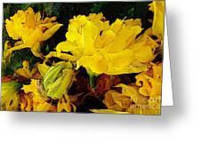 Yellow Daffodils 6 Greeting Card