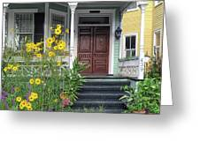 Yellow Daisies In Charleston Greeting Card