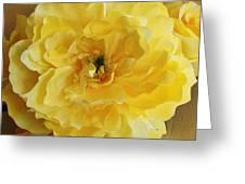Yellow Elagance Greeting Card