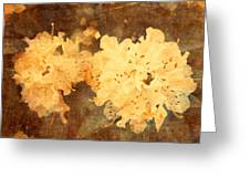 Yellow Flowers In Bloom Greeting Card