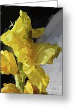 Yellow Glad 092217 1a Greeting Card