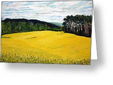 Yellow Ground Greeting Card